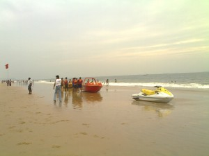 Calangute beach 